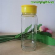 780ml方形玻璃蜂蜜罐 大容量玻璃罐 储存罐