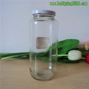 900ml马口铁盖蜂蜜罐 大容量玻璃罐