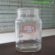 高档蜂蜜瓶 罐头瓶 大小八角玻璃瓶