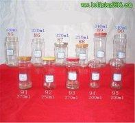定制生产各种规格酱菜瓶 麻椒酱瓶 玻璃酱菜瓶
