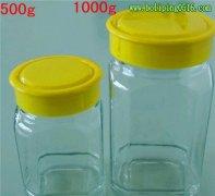 酱菜玻璃瓶 大八角小八角玻璃瓶