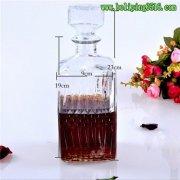 玻璃红酒瓶 玻璃洋酒瓶 密封瓶 泡酒瓶 玻璃醒酒器 1000ml