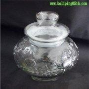 大肚子雕花玻璃瓶 泡酒瓶 自酿瓶 多用途葡萄酒瓶