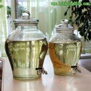 古典双耳泡酒瓶 葡萄酒发酵瓶 药酒瓶 玻璃酿酒器皿 腌菜坛子