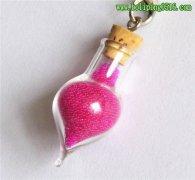 精油瓶 8MM管制玻璃瓶 香水瓶 桃心形