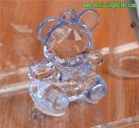 卡通娃娃水晶玻璃许愿瓶 创意玻璃礼品