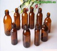 医用玻璃瓶 药用玻璃瓶 棕色玻璃瓶