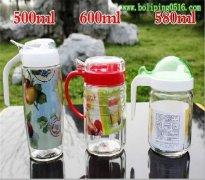 350ML玻璃油瓶 油壶 防漏油瓶 酱油瓶 健康控油