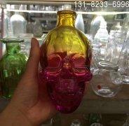 骷髅瓶_彩色骷髅瓶_骷髅头酒瓶