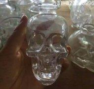 骷髅头饮料瓶_透明骷髅头瓶_骷髅头瓶子