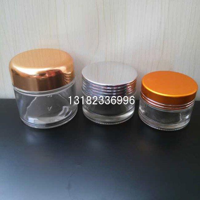 化妆品配玻璃瓶包装 套装系列 膏霜瓶水乳瓶20G--150ml