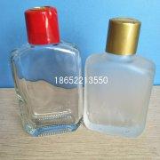 玻璃瓶蒙砂和玻璃瓶喷砂